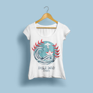 T-shirt by Capitaine Plum'